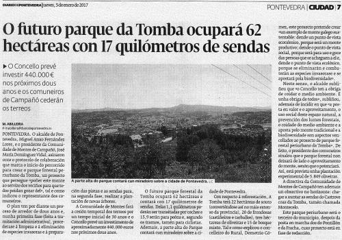 5 xaneiro 2017, Diario