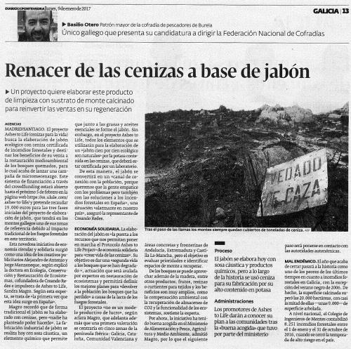 Diario, 9 xaneiro 2017