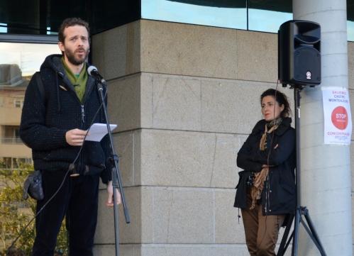 Alexandre Paz: concentración en Moaña pola defensa do Castro de Montealegre