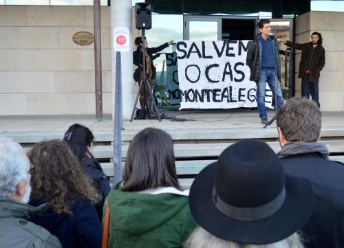 Rafael Oliveira: concentración en Moaña pola defensa do Castro de Montealegre