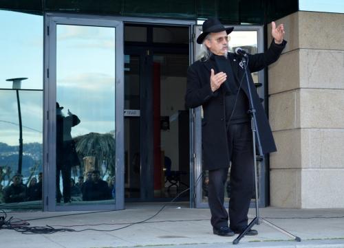 Camilo Camaño: concentración en Moaña pola defensa do Castro de Montealegre