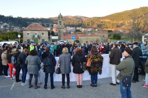 Marcha pola protección do Castro de Montealegre