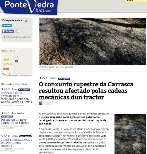 Pontevedra Viva, 15 xaneiro 2017