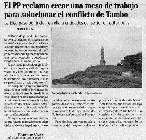 Faro, 15 febreiro 2017