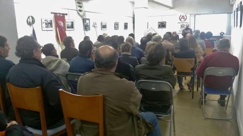 """Charla do arqueólogo Álvaro Arizaga no Ateneo: """"O patrimonio cultural de Marín, unha situación de urxencia"""""""