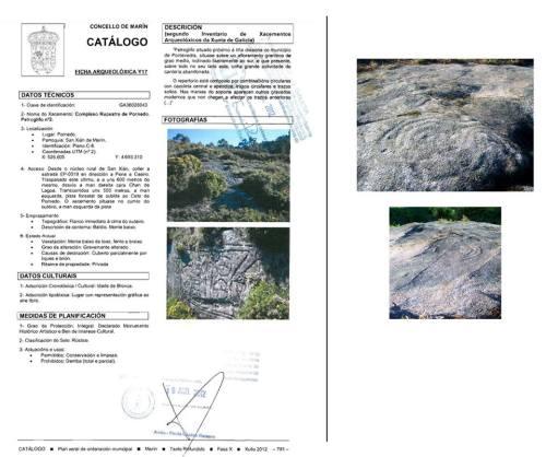Pifias do catálogo arqueolóxico do PXOM: Pornedo 2.