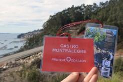 Visita guiada ao castro de Montealegre, Moaña