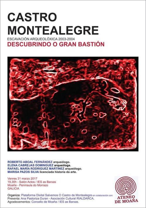 Charla sobre o castro de Montealegre en Moaña