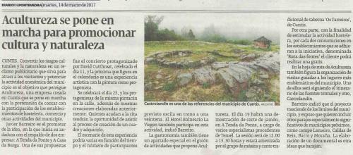 Diario, 14 marzo 2017