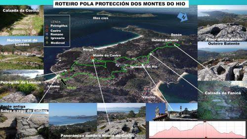 Roteiro pola protección dos Montes do Hío