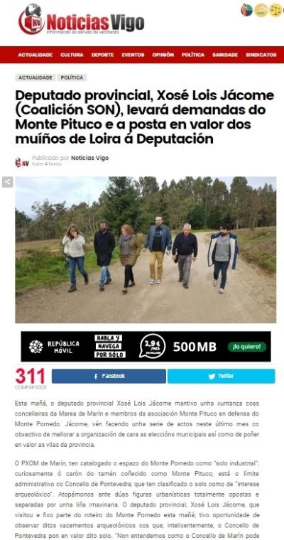 Noticias de Vigo, 25 marzo 2017