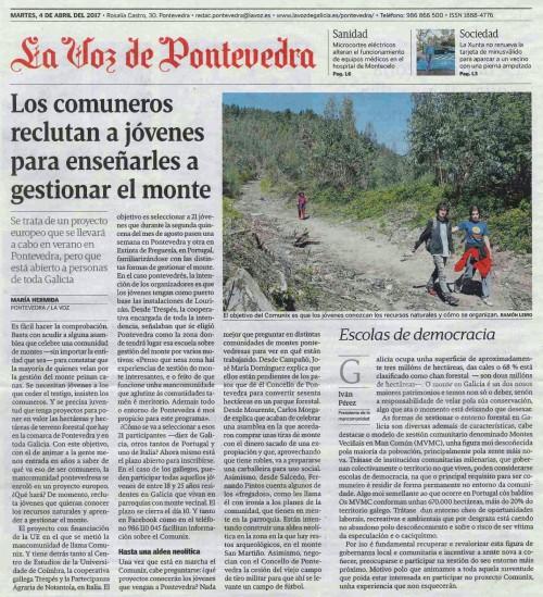 La Voz, 4 abril 2017