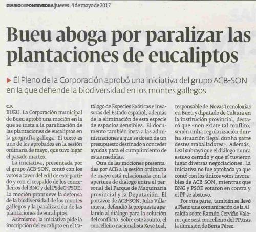 Diario, 4 maio 2017