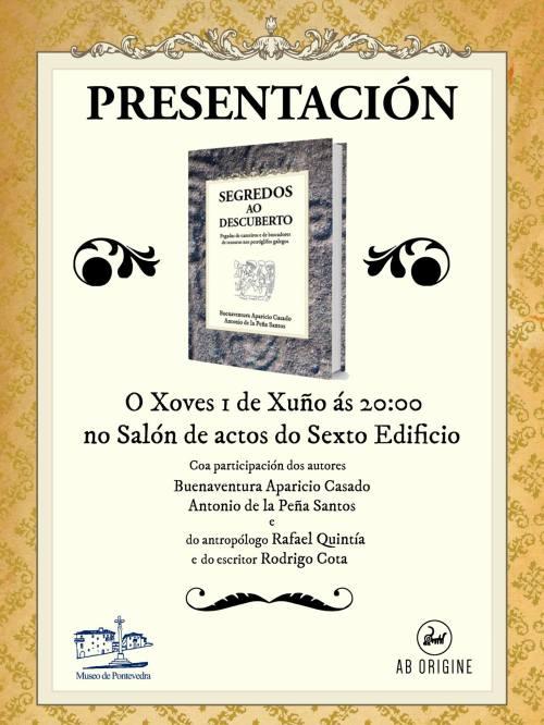 """""""Segredos ao descuberto"""", presentación no Museo"""