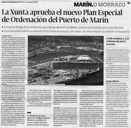 Diario, 22 agosto 2012