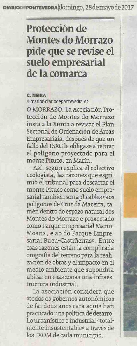 Diario, 28 maio 2017