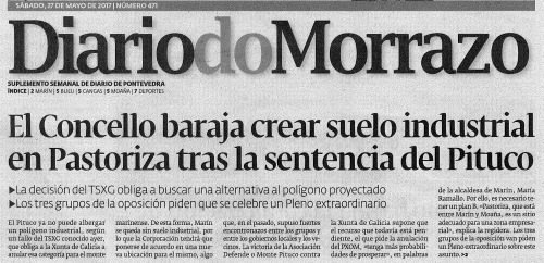 Diario, 27 maio 2017