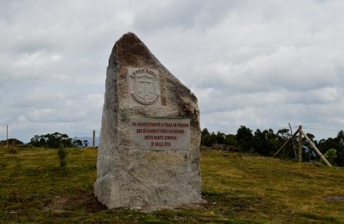 Monumento aos comuneiros comprometidos coa defensa do monte veciñal