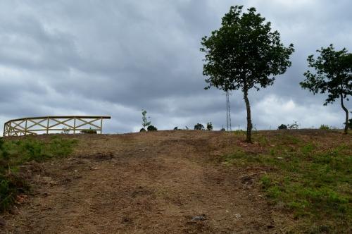 Novo miradoiro no monte de Salcedo a carón da Brilat.