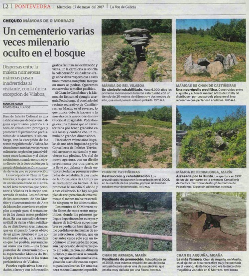 La Voz, 17 maio 2017