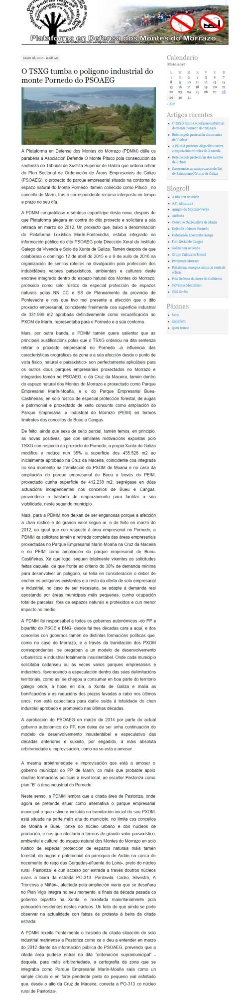 Plataforma Montes do Morrazo