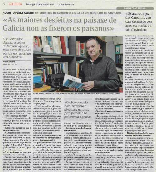 La Voz, 11 xuño 2017