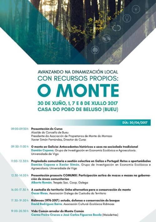 """""""Avanzando na dinamización local con recursos propios: O monte"""""""