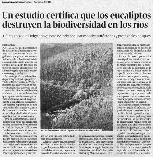 Diario, 13 xuño 2017