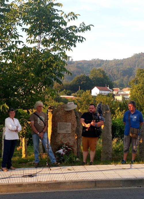 Homenaxe a Xan Montenegro no seu sexto cabodano