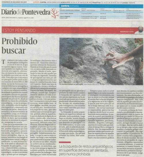 Diario, 25 xuño 2017