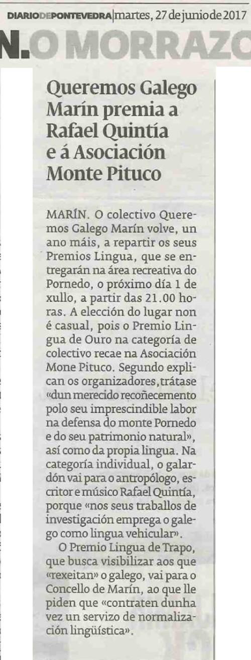 Diario, 27 xuño 2017