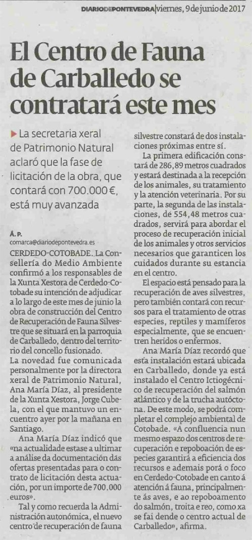 Diario, 9 xuño 2017