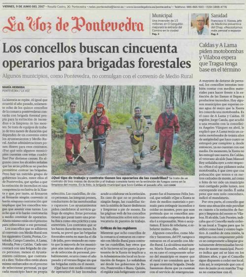La Voz, 9 xuño 2017