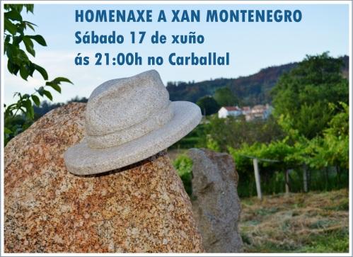 Homenaxe a Xan Montenegro: 6º cabodano (2017)