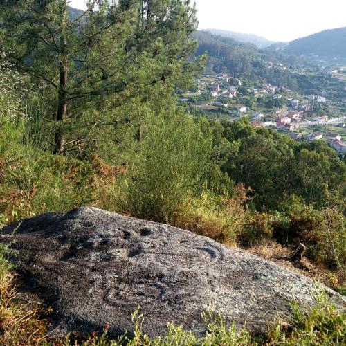 Petroglifo de Pinal de Caeiro (San Xulián)