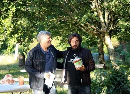 Entrega dos Premios Lingua de Ouro 2017 organizada por Queremos Galego Marín