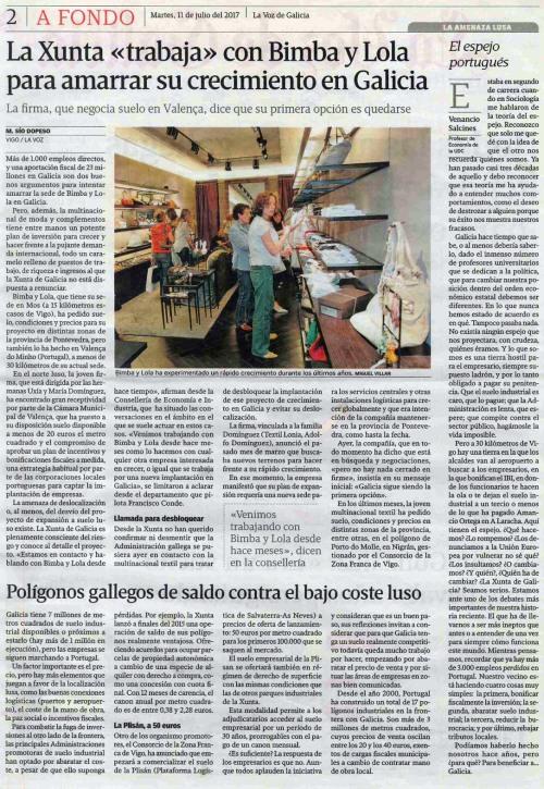La Voz, 11 xullo 2017