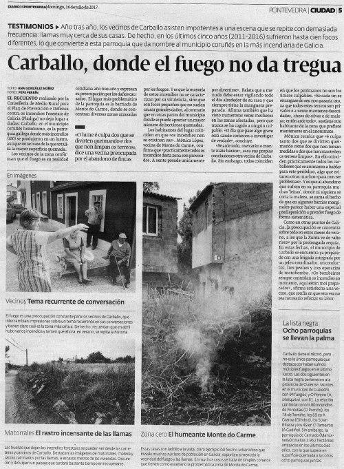 Diario, 16 xullo 2017