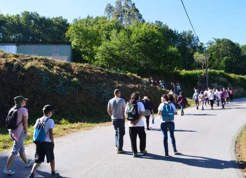 'Ruta da pedra' por Cotobade