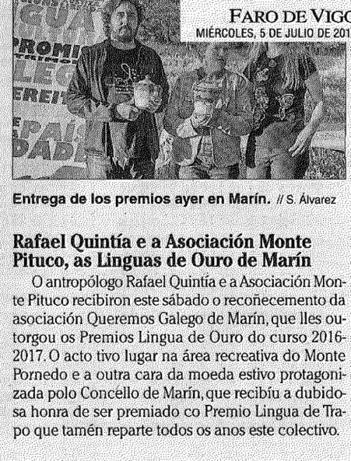 Faro, 5 xullo 2017