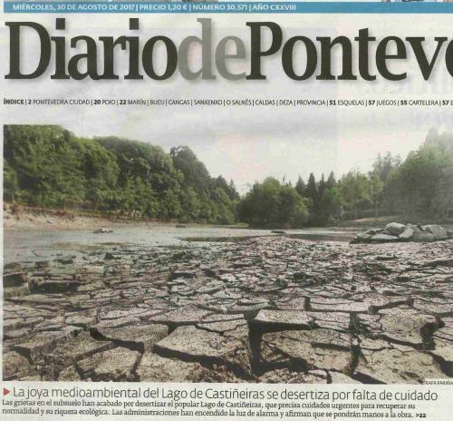 Diario de Pontevedra, 30 agosto 2017
