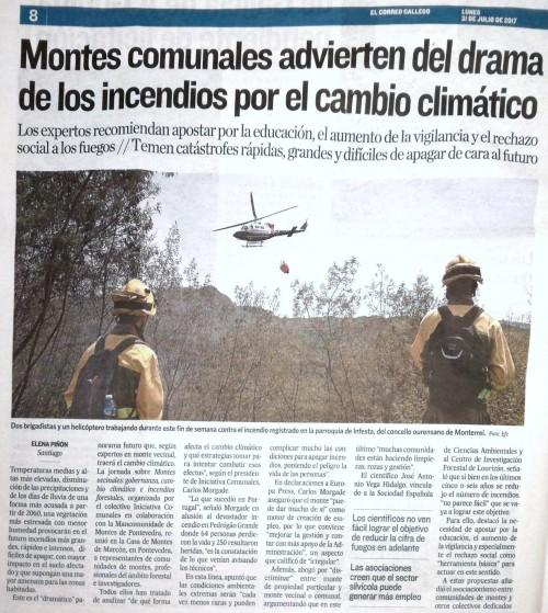 El Correo, 31 xullo 2017