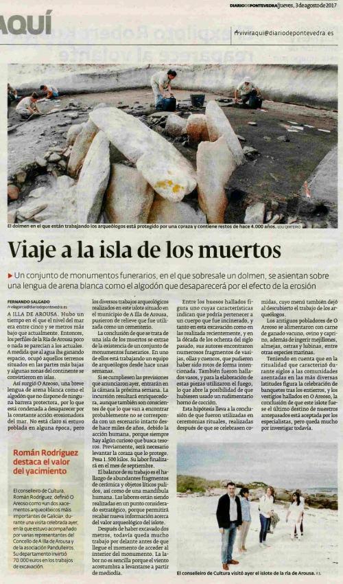 Diario, 3 agosto 2017