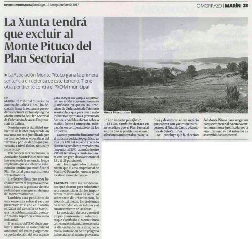 Diario, 17 setembro 2017