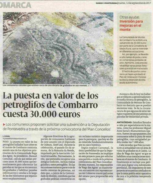 Diario, 12 setembro 2017