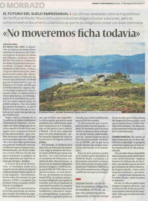 Diario, 19 setembro 2017