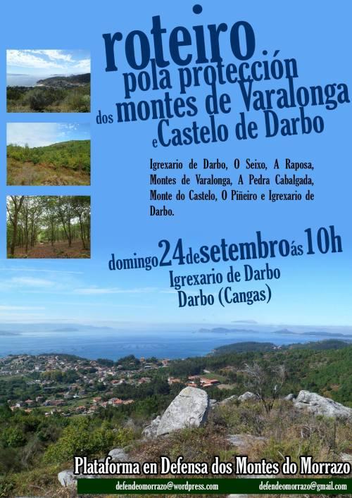 Ruta polos montes de Darbo, Cangas