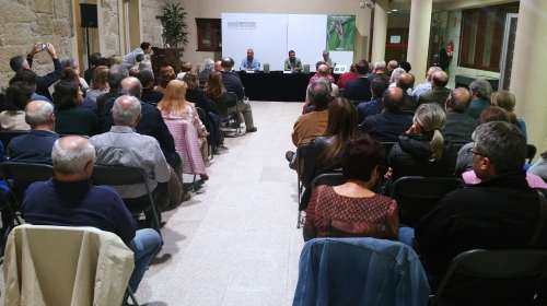 """Presentación do libro """"Aves do río Gafos"""", de Ramón Sineiro"""