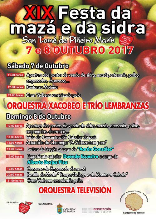 Festa da mazá e da sidra. San Tomé, 2017