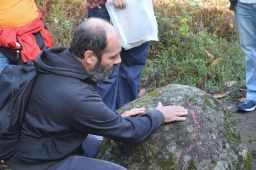 Petroglifo serpentiforme